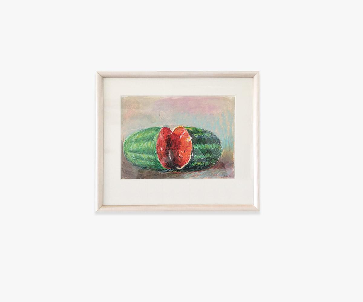 Farverige malerier - Genvej til galleri med akvareller