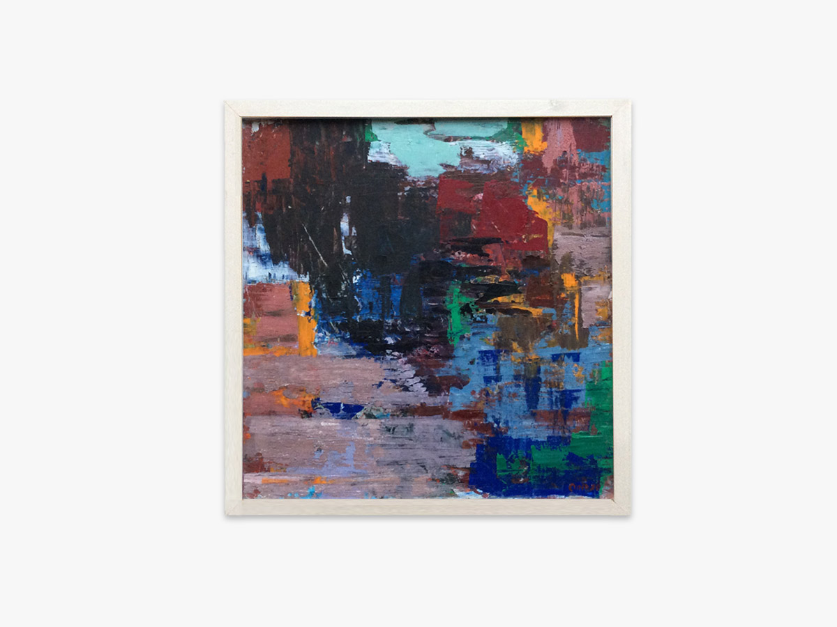 Abstrakt maleri håb - Cuno Sørensen