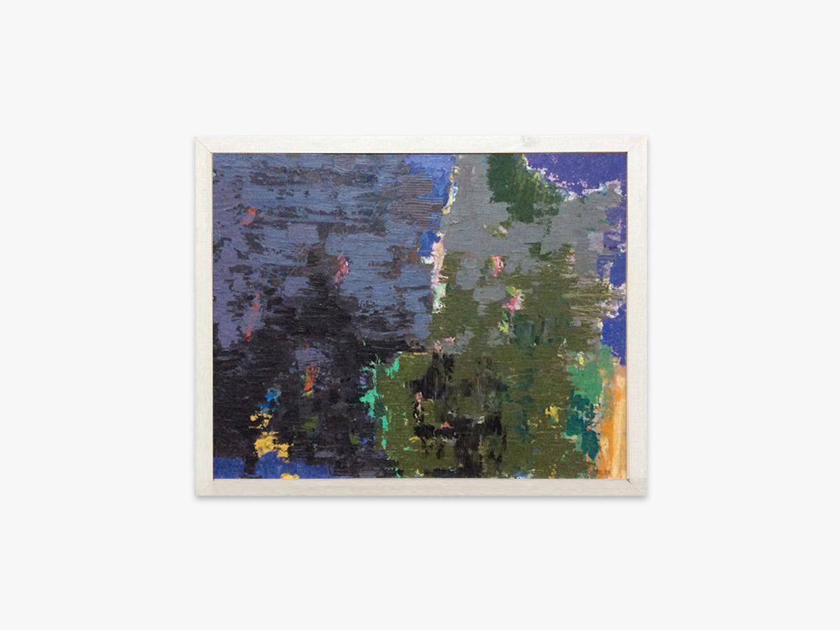 Abstrakt maleri skyggen - Cuno Sørensen