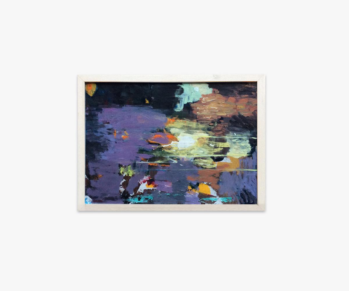 Farverige malerier - Genvej til galleri med abstrakte malerier